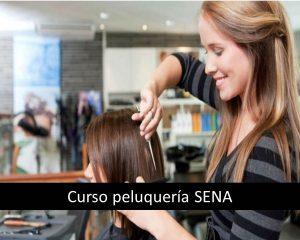 Curso peluquería SENA