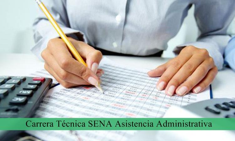 Carrera Técnica SENA Asistencia Administrativa