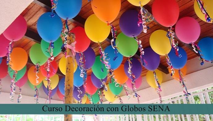 Curso Decoración con Globos SENA