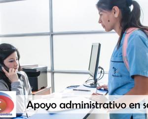 apoyo administrativo en salud sena
