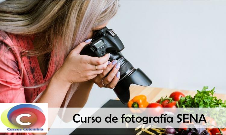 curso de fotografía sena