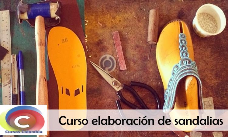 Curso de elaboración de sandalias SENA