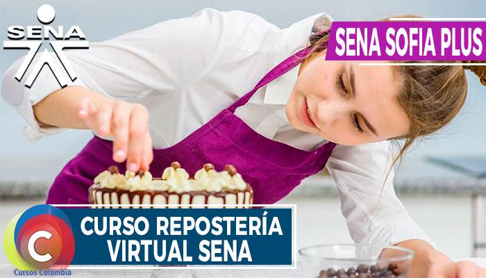 Curso Repostería Virtual SENA