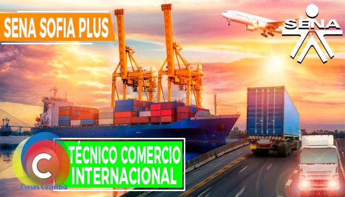 Técnico Comercio Internacional SENA