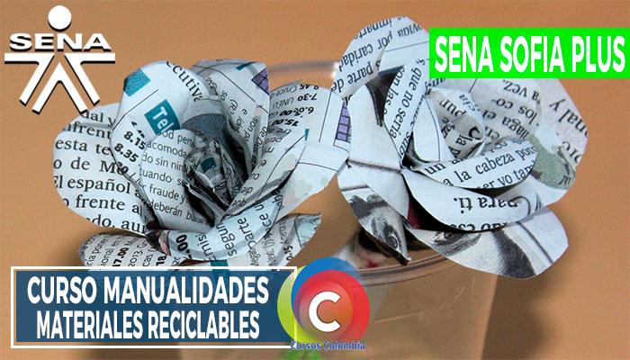 Manualidades con Materiales Reciclables SENA