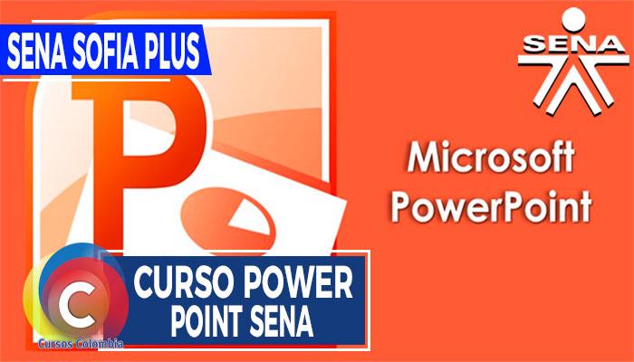 Curso Power Point SENA